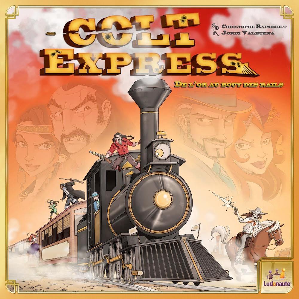 Colt Express เกมปล้นรถไฟสุดมันส์ ที่ดัดแปลงมาจากบอร์ดเกม