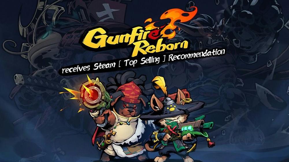 Gunfire Reborn ทาสแมว ภาพการ์ตูน ยิงกันไม่ยั้ง ยังช่วยกันบอกที่ซ่อนของไอเท็มต่าง ๆ รวมถึงทั้งการแท็กทีมคนหนึ่งล่ออีกคนหนึ่งยิง เกมออนไลน์