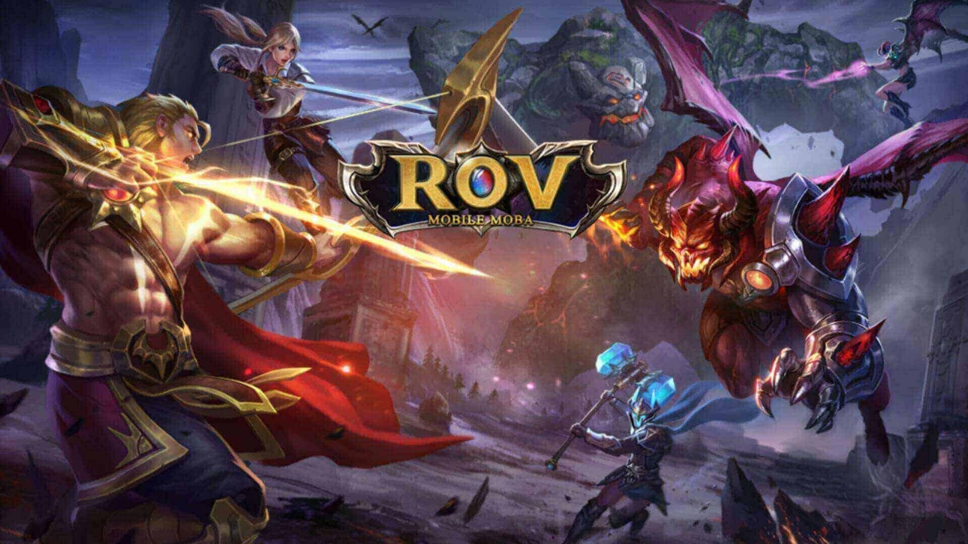 ROV MOBA เกมยอดนิยมอันดับ 1 ของคนไทย