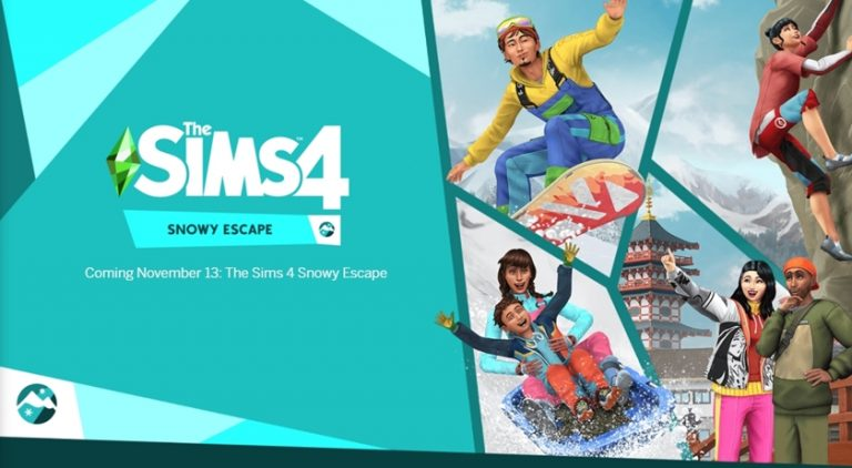 The Sims 4 Snowy Escape ขอให้เตรียมเงินในกระเป๋าไว้ให้ดีเพราะในวันที่ 30 พ.ย. นี้จะมีการปล่อยภาคเสริมอย่าง Snowy Escape ออกมาให้ซื้อเล่นกัน