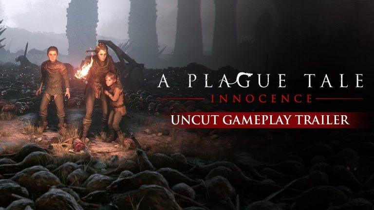 A Plague Tale Innocence เกมเอาชีวิตรอดในโลกที่เต็มไปด้วยโรคระบาด ในช่วงยุคกลางของประเทศฝรั่งเศสที่กำลังเต็มไปด้วยโรคระบาด เกมpcภาพสวย