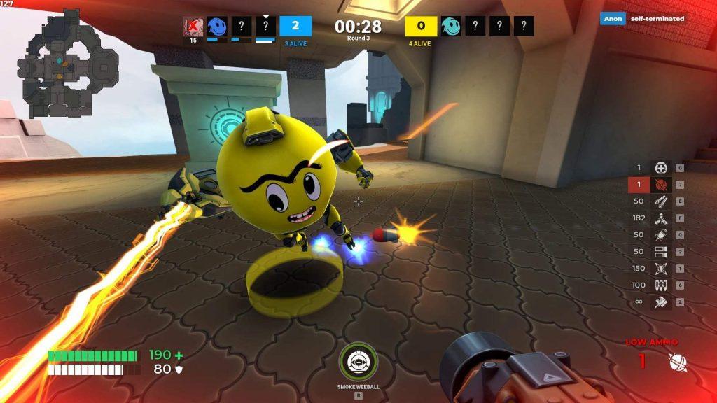 Diabotical เกมPC ถือว่าเป็น เล่นฟรีแนว Action-Shooting ออนไลน์ โดยที่ตัวเกมได้ใส่โหมดการเล่นไว้อย่างหลากหลายมากถึง 15 โหมดการเล่นเลยทีเดียว Remove term: เกมคอมโรบอท เกมคอมโรบอทRemove term: เกมคอมน่าเล่น เกมคอมน่าเล่นRemove term: เกมpcออนไลน์ เกมpcออนไลน์Remove term: game action shooting online game action shooting onlineRemove term: Diabotical Diabotical 2020