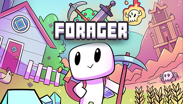 แนวเอาตัวรอด ที่มีความน่ารัก ตะมุตะมิอย่าง เกมเอาตัวรอดสไตล์อินดี้ Foragerกันมาบ้างไม่มากก็น้อย เพราะตัวเกม Forager นี้ต้อง ปลูกผัก ทำฟาร์ม
