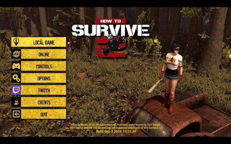 เอาตัวรอด How to Survive 2 สร้างฟาร์ม และต่อสู้กับซอมบี้ รองรับผู้เล่นอื่น ๆ ได้ถึง 16 คน และสามารถเล่นจอเดียวกันได้ 4 คน เน้นการเอาชีวิตรอด