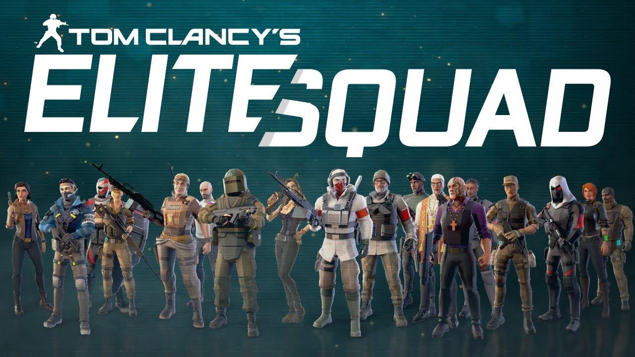 Tom Clancys Elite Squad เมื่อโลกกำลังเผชิญ กับภัยคุมคามที่แสนอันตราย และเป็นภัยอัตรายที่ไม่มีใครเคยพบเห็นมาก่อน เกมมือถือภาพสวย2020