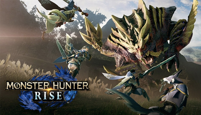 Nintendo Switch ในเกม Monster Hunter Rise
