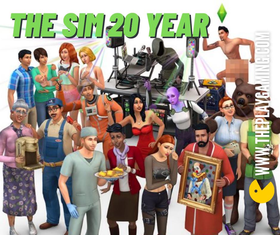 """เกมแนวสวมบทบาทแล้วล่ะก็ เกมที่จะไม่นึกถึงไปไม่ได้เด็ดขาดนั่นก็คือ """" The Sims """" The Sims เกมสวมบทบาทใช้ชีวิตประจำวัน ผู้เล่นนั้นจะได้สวมบทบาท"""