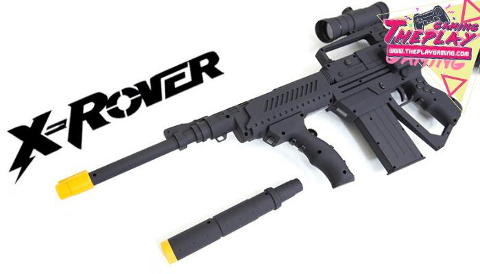 X-Rover D6 อุปกรณ์ที่ทำให้การเล่นเกม Action ของคุณสนุกมากขึ้น เหมาะเป็นอย่างยิ่งสำหรับการเล่น เกมแนว Shooting หรือ เกมแนวเดินหน้ายิง
